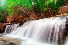 Free Paradise Waterfall Royalty Free Stock Photos - 24459198