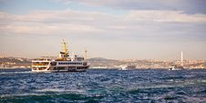 Free Bosphorus With Sea Traffic 2 Stock Image - 24462381