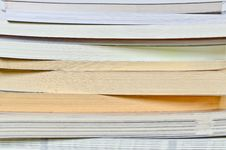 Free Book Stack Close Up Royalty Free Stock Image - 24469316