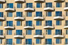 Building Facade Pattern Stock Photos