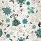 Free Retro Flower Seamless Stock Image - 24465231