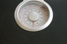 Free Analog Weigh Scale Royalty Free Stock Photo - 24470175
