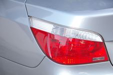 Free Car Rear Light Royalty Free Stock Photography - 24470637