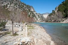 Free Viewpoint At Barrier Lake, Turkey Royalty Free Stock Image - 24474116