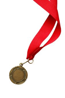 Free Medal With Ribbon Royalty Free Stock Image - 24475286