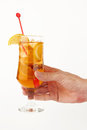 Free Ice Lemon Tea Royalty Free Stock Photography - 24480997