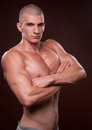 Free Young Bodybuilder Royalty Free Stock Image - 24481046