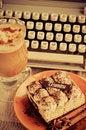 Free Tiramisu And Coffee Stock Photo - 24481670
