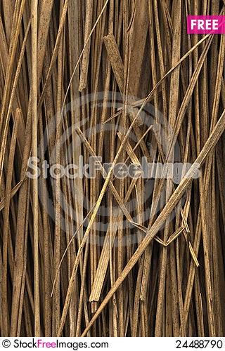 Free Straw Backround Stock Photo - 24488790