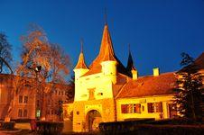 Free Brasov Fortress, Ecaterina Gate, Brasov, Romania Royalty Free Stock Images - 24486489
