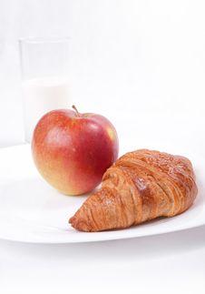 Free Fresh Light Breakfast Royalty Free Stock Image - 24490346