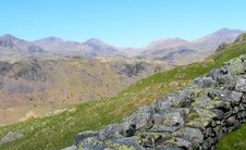 Free Hardknott Pass - Lake Discrict Royalty Free Stock Photography - 24492207