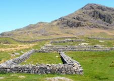 Free Hardknott Roman Fort Stock Photo - 24492210