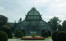 Free Glasshouse In Schonbrun. Royalty Free Stock Images - 24493709