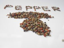 Free Pepper Mix Royalty Free Stock Photo - 24497395