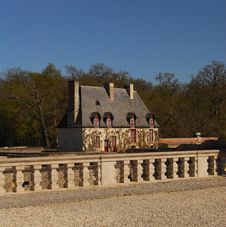 Chateau At Chenonceau Stock Images