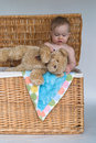 Free Baby And Teddy Royalty Free Stock Images - 2450059