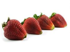 Free Four Strawberries Stock Photos - 2450823