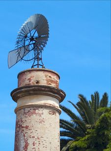 Windmill Water Pump 02 Royalty Free Stock Image