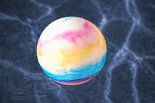 Free Toy Ball In Pool Stock Photography - 2451772