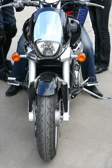 Free Motorcyclist. Stock Photos - 2452083