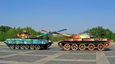 Free Military Tanks Royalty Free Stock Image - 2453036