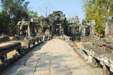 Free Banteay Kdei Temple Royalty Free Stock Photos - 2453228