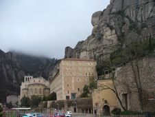 Free Monastery In Montserrat Spain Stock Photos - 2453413
