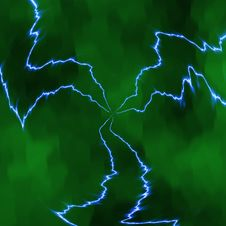 Free Lightning Bolts Royalty Free Stock Photography - 2453897