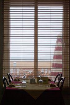 Free Restaurant Window Royalty Free Stock Photo - 2454055