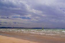 Free Essaouira Beach Stock Photography - 2454182