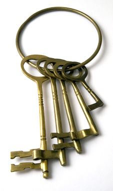 Free A Set Of Keys. Royalty Free Stock Image - 2454696