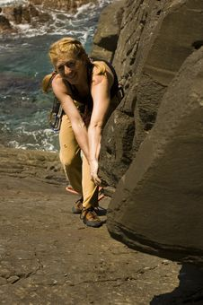 Free Climb On Royalty Free Stock Photography - 2455787