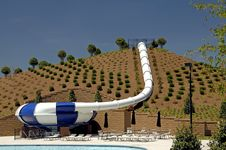 Free Water Slide Stock Image - 2455811