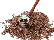 Free Turkish Coffee Pot Royalty Free Stock Image - 2458126