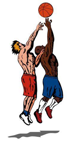 Free Street Basketball Rebound Stock Image - 2458771