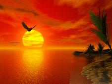 Free Beautiful Tropical Scene Stock Photos - 2458953