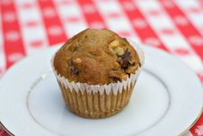 Free Banana Muffin Royalty Free Stock Photo - 2459425