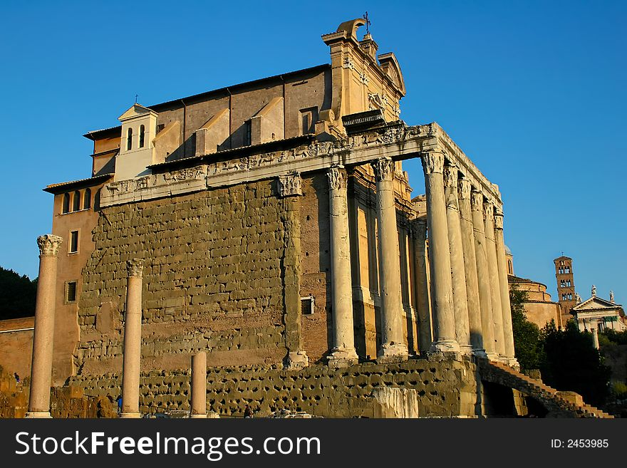 Temple of Antoninus and Fausti
