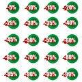 Free Discounts Stock Image - 24500701