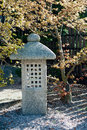 Free Japanese Garden Lantern Stock Photography - 24502232