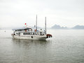 Free Tourist Boat In Halong Bay, Vietnam. Royalty Free Stock Photos - 24509928