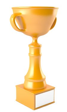 Free Golden Cup Royalty Free Stock Photo - 24500755