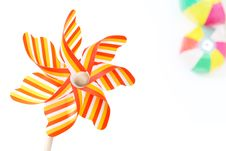 Free Toy Pinwheel Royalty Free Stock Photography - 24500877