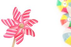 Free Toy Pinwheel Royalty Free Stock Photography - 24500887