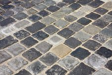 Free Cobblestone In  Budapest, Hungary Royalty Free Stock Photos - 24501558
