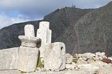 Free Ancient Thira At Santorini, Greece Stock Photos - 24501693