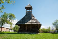 Free Wooden Architecture Of A Small Orthodox Church Royalty Free Stock Images - 24501929
