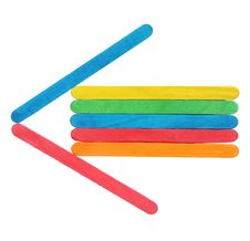 Colorful Wooden Arrows Sign Stock Image