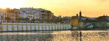 Free Seville Sunset Royalty Free Stock Photography - 24507177